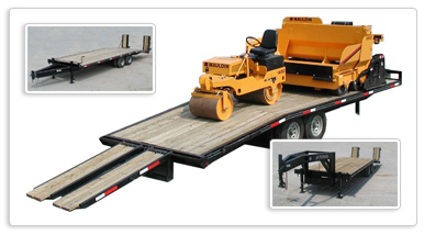Asphalt Paving Equipment :: Trailers