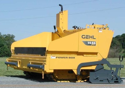 Small 4 – 5.5 Ton Gravity Paver