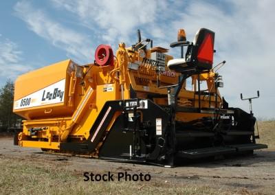 2007 LeeBoy 8500 Low Deck