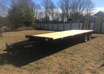 New Red Hot Welding 12 Ton Paver Trailer