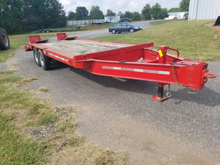 1999 Interstate 12BST Tandom Axle Single Tire 6-Ton Trailer