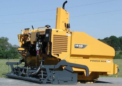 2015 Power Box 1448 Diesel Track Paver with 8′-12′ Screed