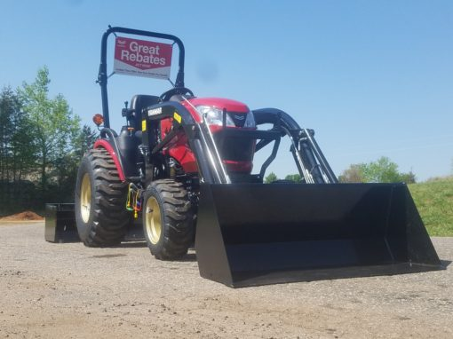 New Yanmar 424-L Tractor