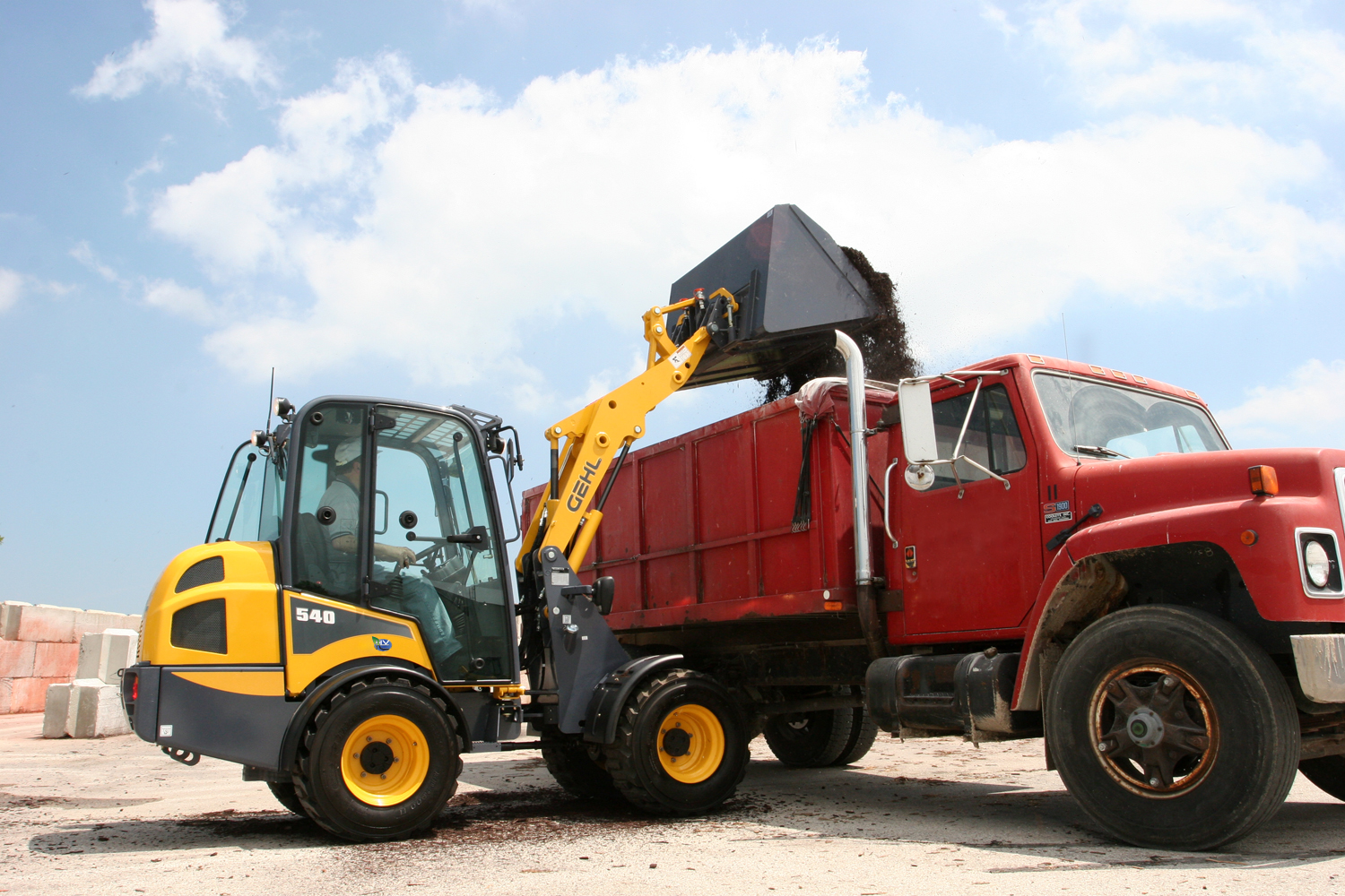 New Gehl 540 Articulated Loader