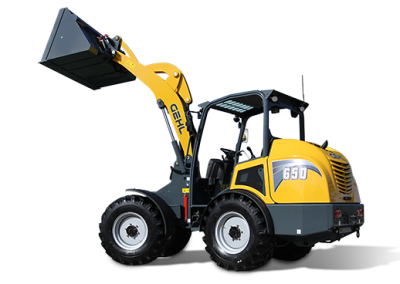 New Gehl 650 Articulated Loader