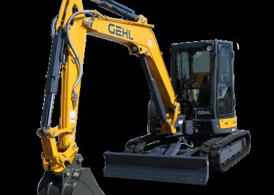 New Gehl Z55 Compact Excavator