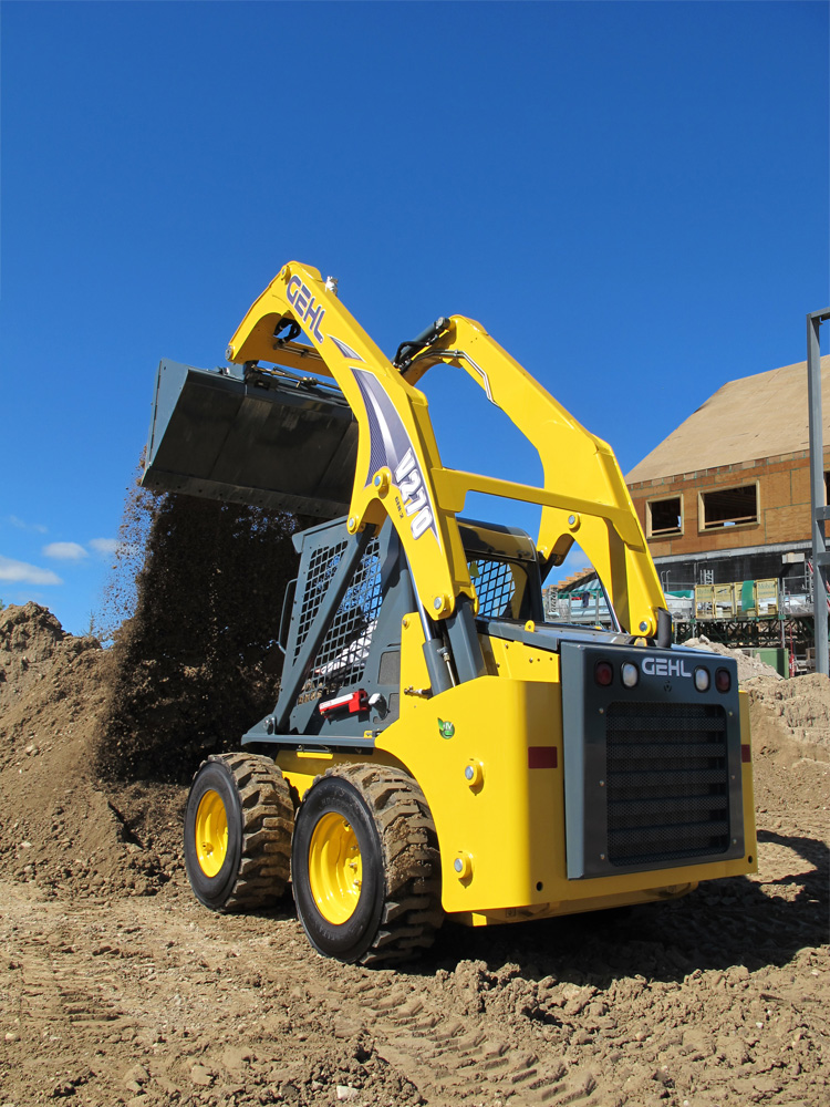 New Gehl V270 Vertical-lift Skid Loader