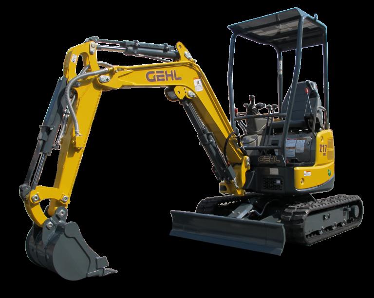 New Gehl Z17 GEN: 2 Compact Excavator