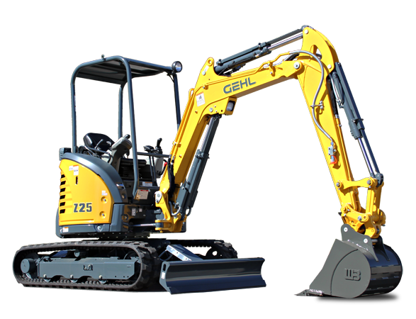 New Gehl Z25 Compact Excavator