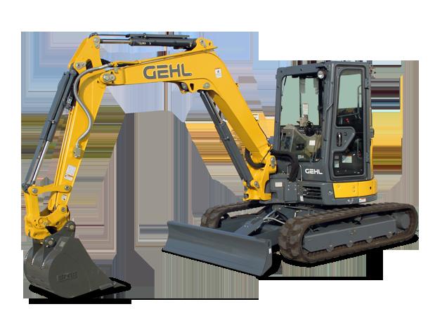 New Gehl Z45 Gen:2 Compact Excavator