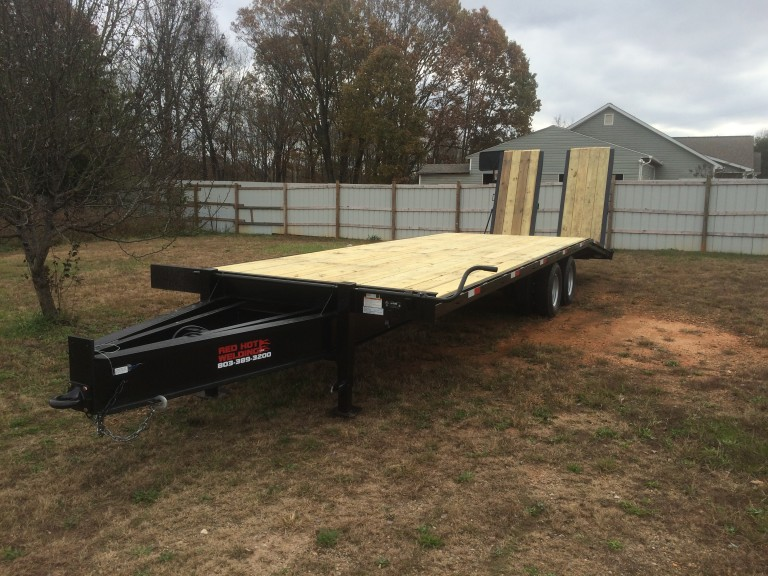 New Red Hot Welding 10 Ton Paver Trailer