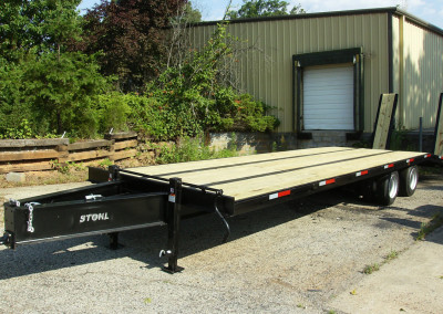 New Red Hot Welding 20 Ton Paver Trailer