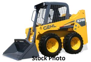 gehl 4240 skid loader