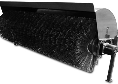 CID X-Treme Skid Steer Angle Broom Attachment