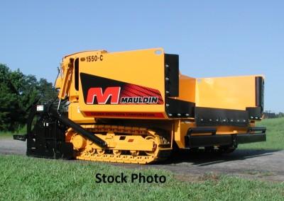 2008 Mauldin 1550C Diesel, Track Asphalt Paver