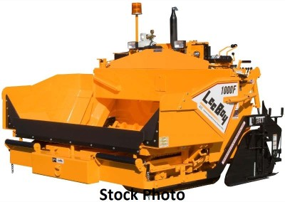2008 LeeBoy 1000F paver with 8′-13′ Legend Screed