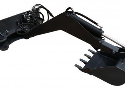 CID X-treme Skid Steer Swing Arm Backhoe Attachment