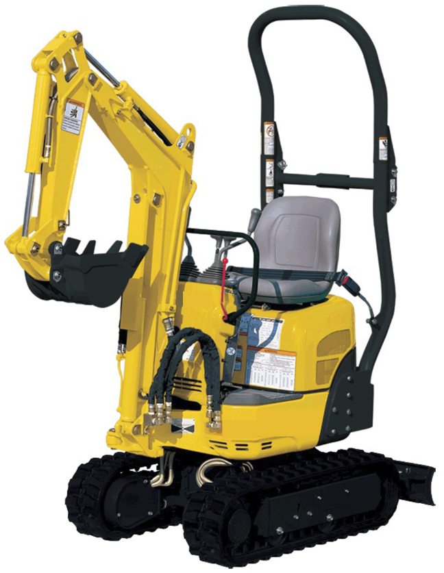 New Gehl M08 Compact Excavator