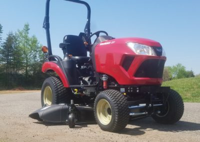 New Yanmar 221-D Tractor with Mower Deck