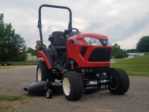 yanmar 221-td tractor with mower deck