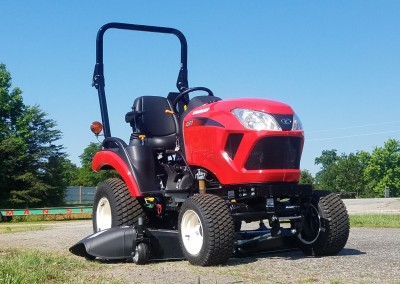 New Yanmar 221-TD Tractor with Mower Deck