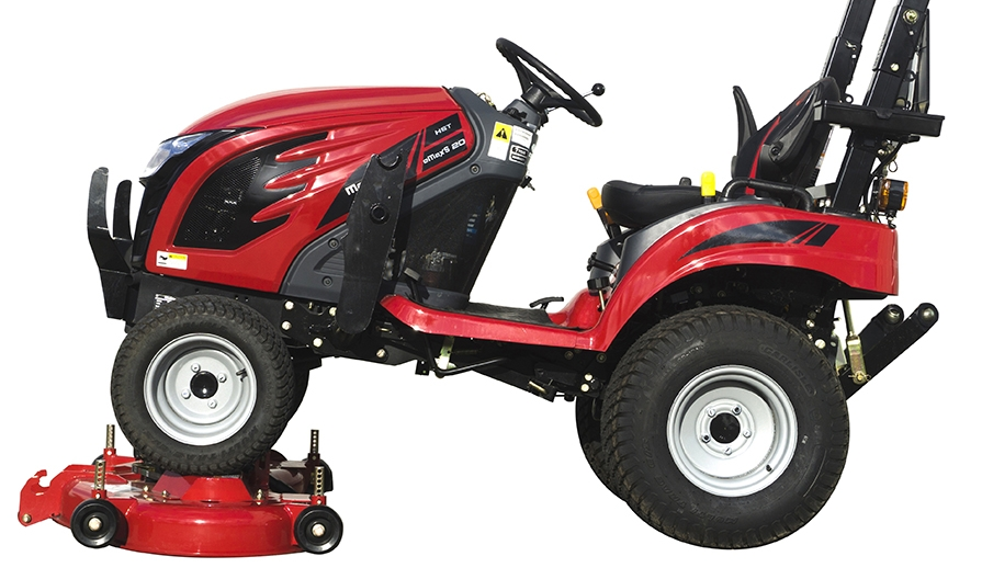 Mahindra eMax 20S HST deck