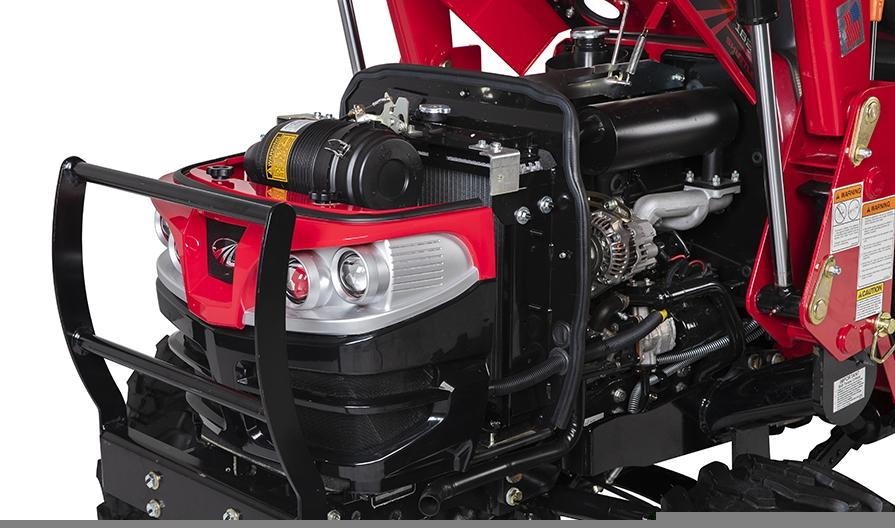 Mahindra 1626 HST Engine