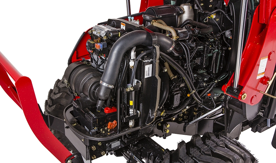 Mahindra 2638 Cab Engine