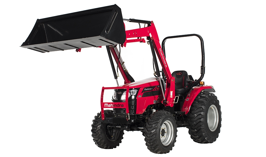 Mahindra 2645 Shuttle Loader