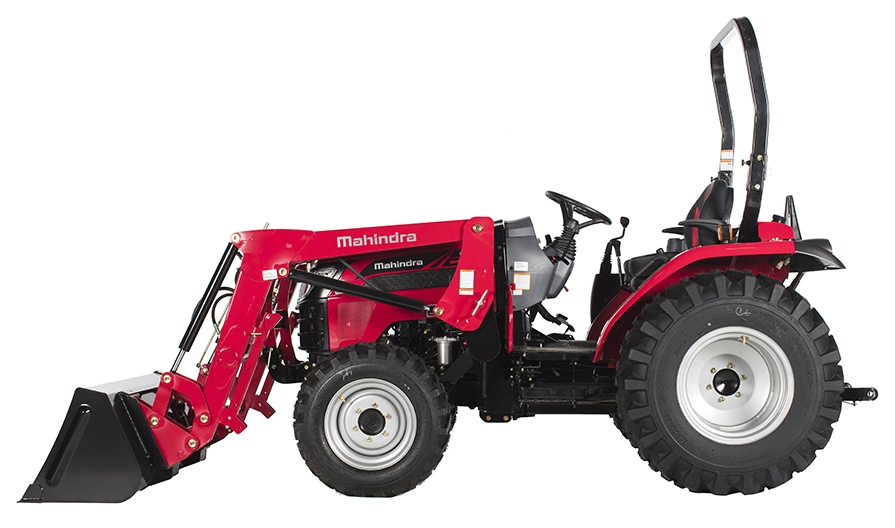 Mahindra 2645 Side