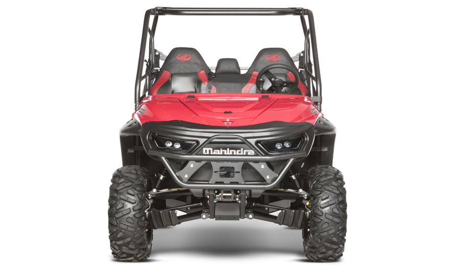 Mahindra_Retriever1000 S_Red_F_HR