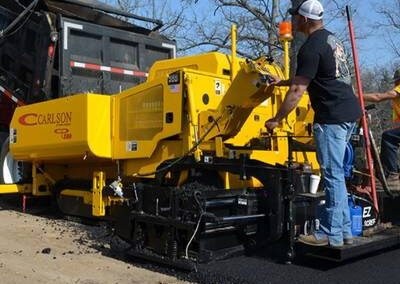 2017 Carlson CP100 Diesel, Track Paver with 8′-15′ EZCSS Screed