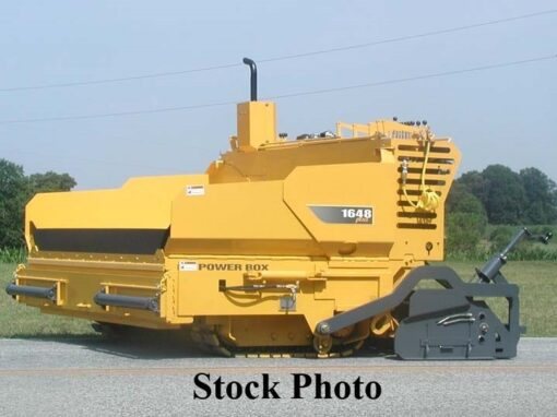 2015 Power Box 1648 Plus Diesel, Track paver with 8′-13′ propane screed